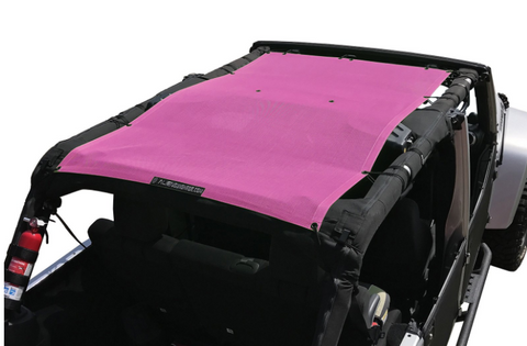 Full Sunshade, Various Colors by Alien Sunshade ('07-'18 Wrangler JK 4 Door)