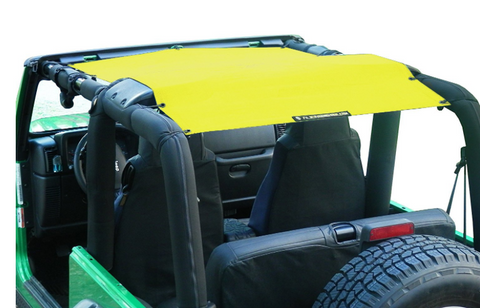 Top Sunshade, Various Colors by Alien Sunshade ('97-'06 Wrangler TJ)