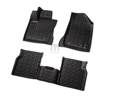 All-Weather Slush Mats by Mopar (2nd Generation '17-'18 Compass MP)