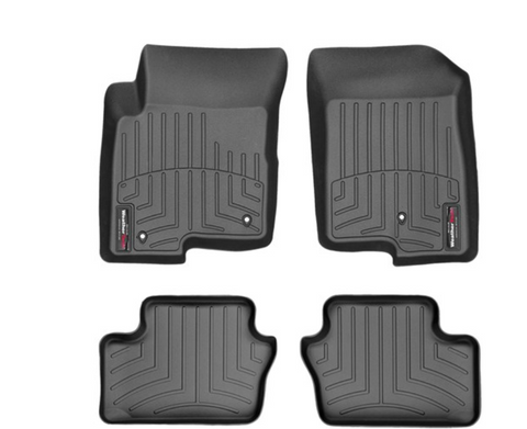 Floor Liner Set, Front & Rear, Black by Weathertech ('18 Compass, 1st Gen.)