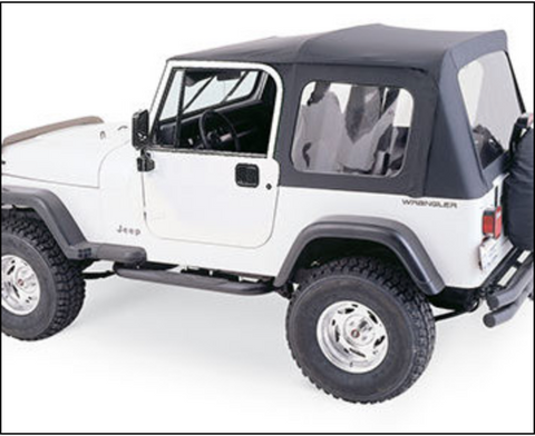 Complete Soft Top Kit by Rampage ('76-'86 CJ)