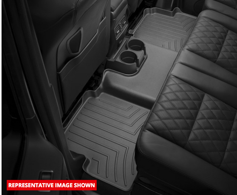 Digital Fit Floor Mats, Front & Rear, Black by WeatherTech ('19 Wrangler JLU)