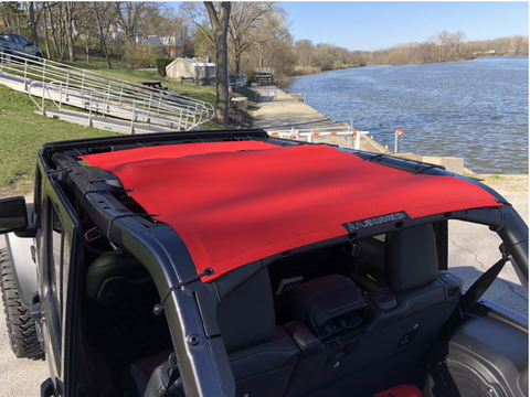 Full Sunshade, Various Colors by Alien Sunshade ('19 Wrangler JLU)