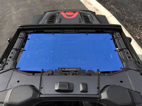 Front Sunshade, Various Colors by Alien Sunshade ('19 Wrangler JL)