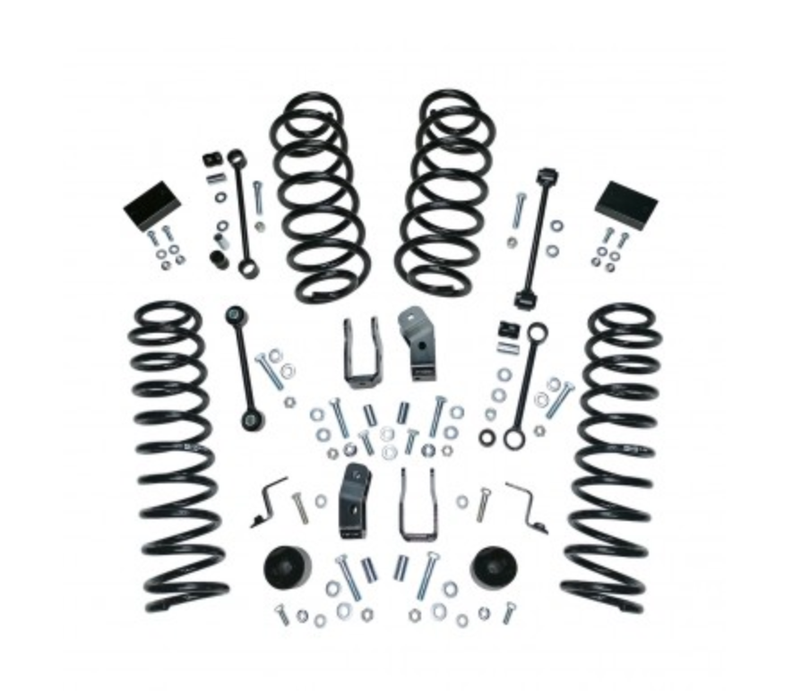 suspension lift kit  2 5 inch by alloy usa   u0026 39 19 wrangler