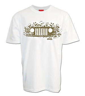 Jeep Tracks and Grille T-Shirt