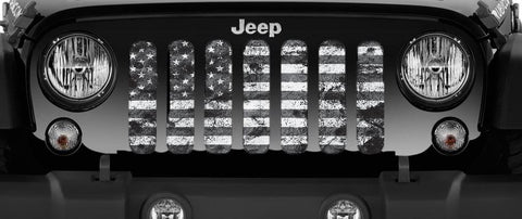"""Stealth Dirty Grace"" Grille Insert by Dirty Acres ('76-'20 Wrangler CJ, YJ, TJ, JK, JL and '20 Gladiator JT)"