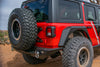Tailgate Mounted Tire Carrier by DV8 Offroad (18+ Wrangler JL)