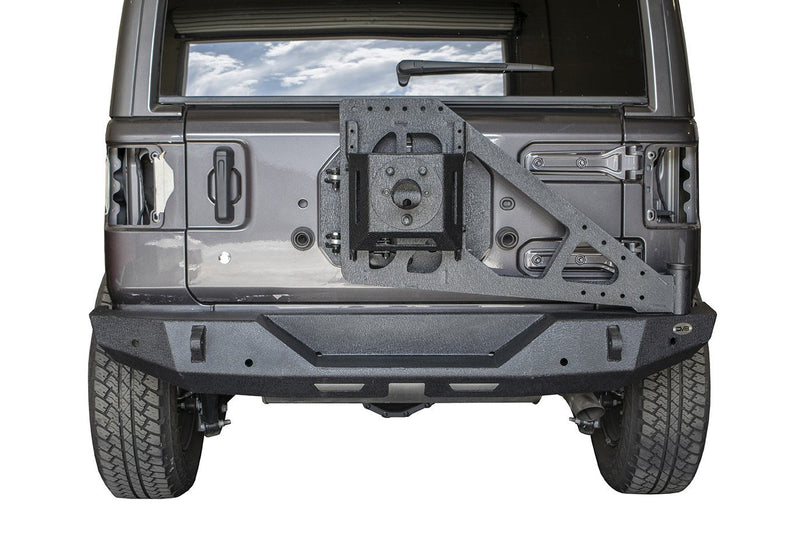 Tire Carrier Add On by DV8 Offroad (18+ Wrangler JL)