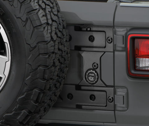 Swing Gate Hinge Reinforcement by Mopar ('19 Wrangler JL)