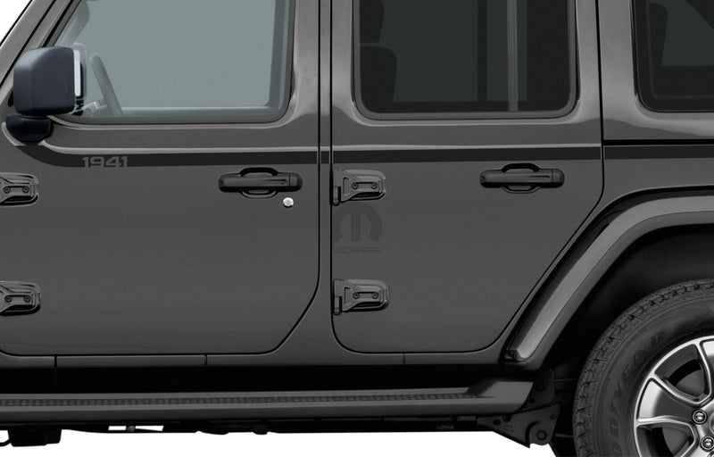 1941 Graphic/ Applique by Mopar ('18 Wrangler JLU 4-Door) - Jeep World