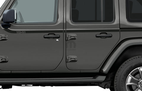 1941 Graphic/ Applique by Mopar ('19 Wrangler JLU 4-Door)