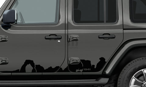 Mountain Graphic/ Applique by Mopar ('19 Wrangler JLU 4-Door)
