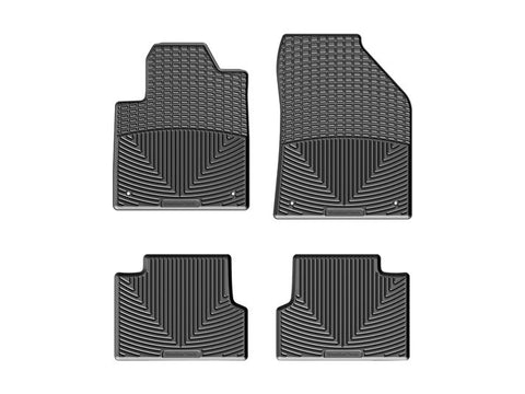 WeatherTech All-Weather 1st and 2nd Row Floor Mats ('18 Jeep Cherokee KL)