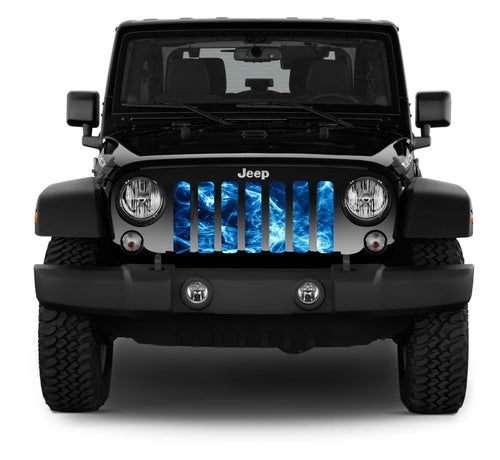 """Underwater Smoke"" Grille Insert by Dirty Acres"