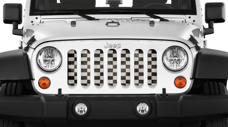 """Winner Winner"" Grille Insert by Dirty Acres ('76 - '18 Wrangler CJ, YJ, TJ, JK, JKU) - Jeep World"