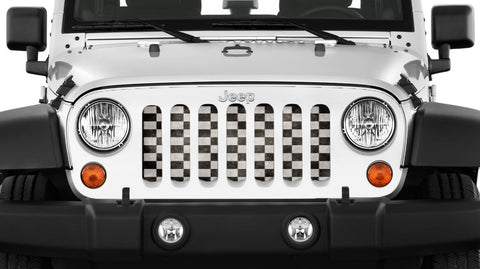 """Winner Winner"" Grille Insert by Dirty Acres (Wrangler, Gladiator, Renegade, G.Cherokee)"