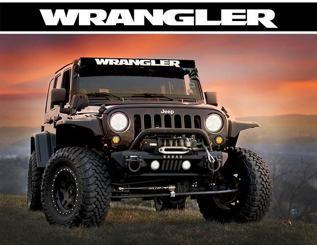 """Wrangler"" Light Bar Insert by AeroX Industries (Universal)"