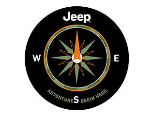 Mopar The Adventures Begin Here Tire Covers (Wrangler CJ, YJ, TJ, & JK) - Jeep World