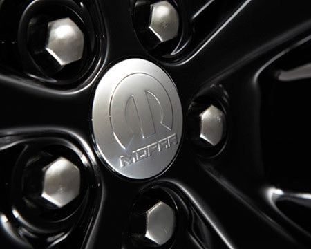 Mopar wheel center cap