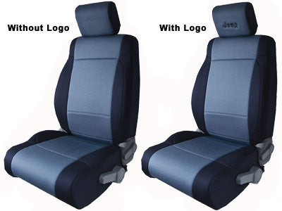 CoverKing Seat Cover, Front, Charcoal, no logo, With Height Adjust Airbag for 2 Door Wrangler JK - Jeep World