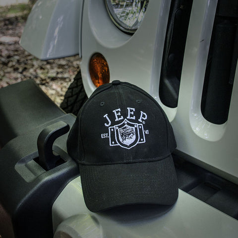 Jeep Black Chino Hat