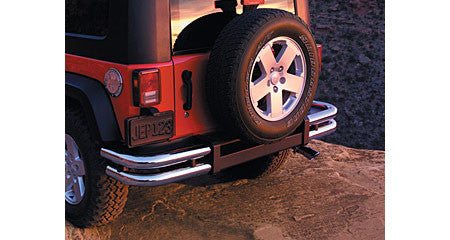 Mopar Tubular Bumper, Rear, Chrome ('07-'18 Wrangler JK) - Jeep World
