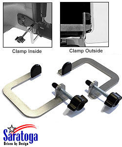 Saratoga Lift Gate Clamps for ('87-'06 Wrangler YJ, TJ)