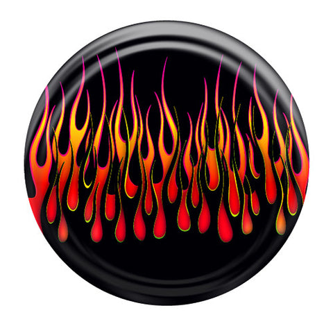 Colortek Rigid™ Hot Rod Flames Tire Cover (Liberty KJ, Wrangler CJ, YJ, TJ, & JK)