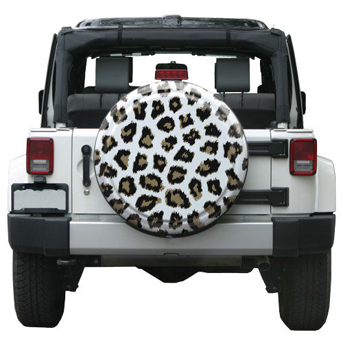 Leopard Pattern Jeep Tire Cover White Or Pink Jeep World