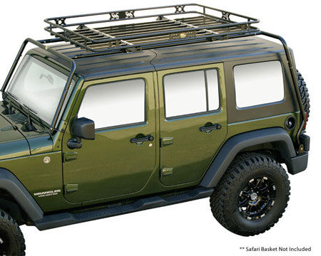 Jeep Cargo Rack Cargo Basket For Wrangler Jeep World
