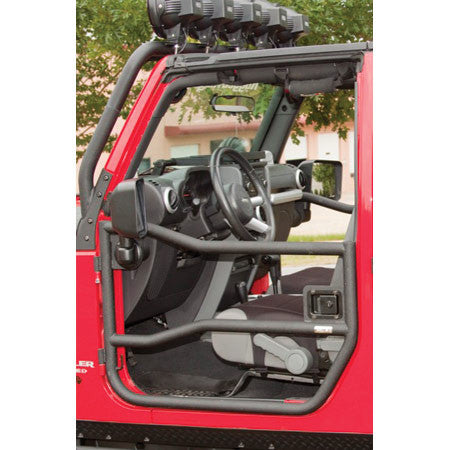 Rugged Ridge Door Latch Set, Pair, for Half and Tube Doors ('07-'16 Wrangler JK)