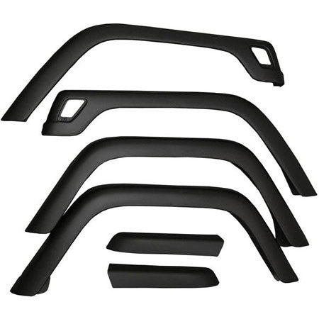 Rugged Ridge Fender Flare Replacement Kits ('87-'18 Wrangler YJ, TJ, JK)