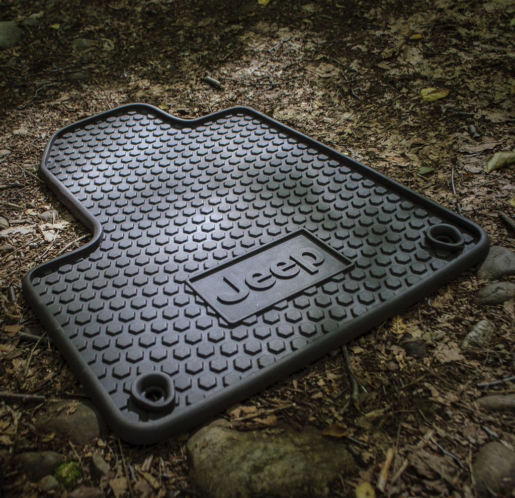 Mopar All Weather Floor Mats ('14-'15 Cherokee KL) - Jeep World