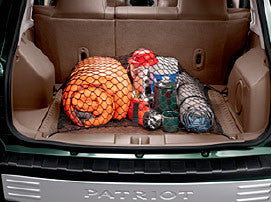 Mopar Jeep Cargo Net Kit ('07-'18 Compass MK49, Patriot MK)