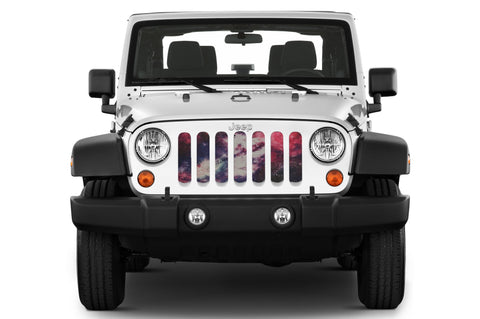 """Free Space"" Grille Insert by Dirty Acres ('76 - '19 Wrangler CJ, YJ, TJ, LJ, JK, JL)"