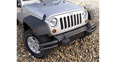 Mopar Tubular Bumper, Front, Satin Black ('07-'17 Wrangler JK) - Jeep World