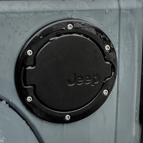 Jeep Gas Cap And Fuel Door For Wrangler Jeep World