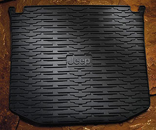 Floor Liners, Rear, Black by Rugged Ridge ('07-'18 Jeep Wrangler JK)