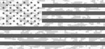 """Ghost American Flag Digital Camo"" Grille Insert From Dirty Acres ('76-'18 Wrangler YJ, CJ, TJ, JK, JKU) - Jeep World"