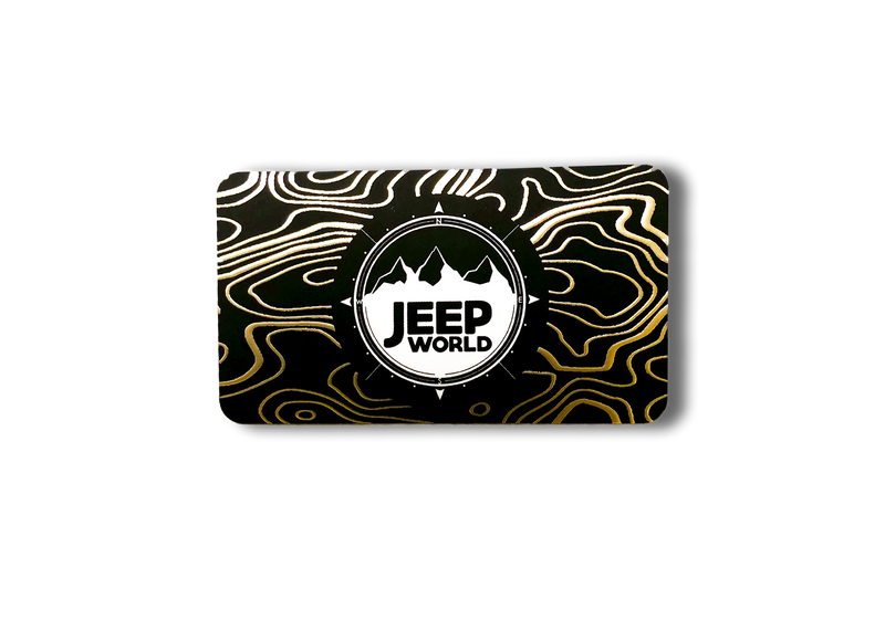 JeepWorld.com Physical Gift Card