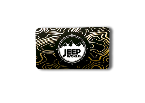 Jeep World Mini Crate Gift Box
