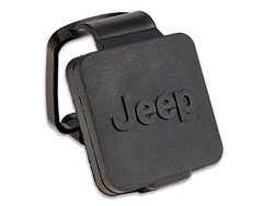 "Mopar Hitch Plug for 2"" opening with Jeep logo ('87-'16 Wrangler YJ, TJ, JK)"