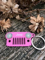 Jeep Grille LED Keychain, Various Colors by InSync