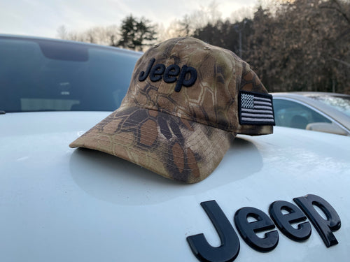 Kryptek Camo Jeep Hat