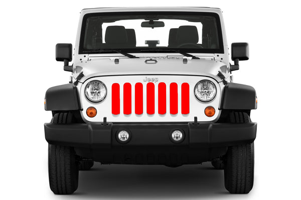 Grille Insert For Wrangler Solid Color Jeep World