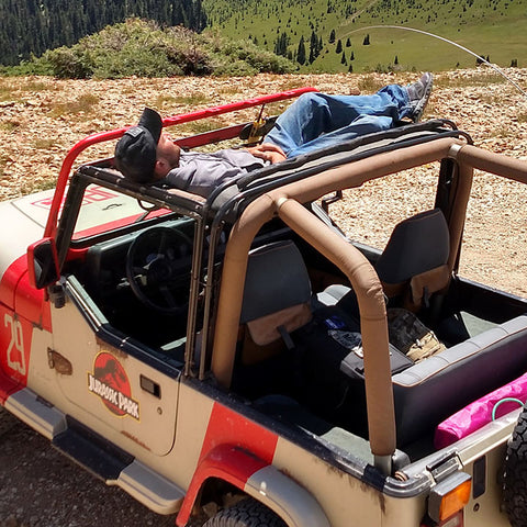 Jammock - Hammock For Your Jeep ('87-'18 Wrangler CJ, YJ, TJ, JK, JKU)