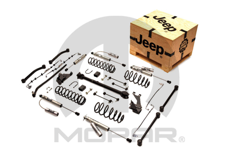 "Mopar 4"" Lift Kit ('12-'18 Wrangler JKU 4 Door)"