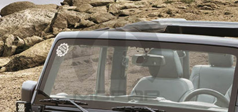 Jeep Brand Window Decal