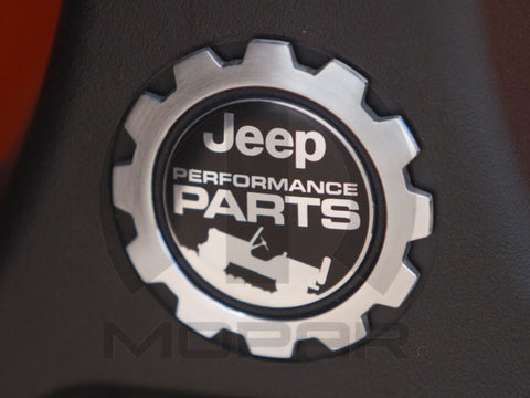 Jeep Performance Parts Vehicle Badge